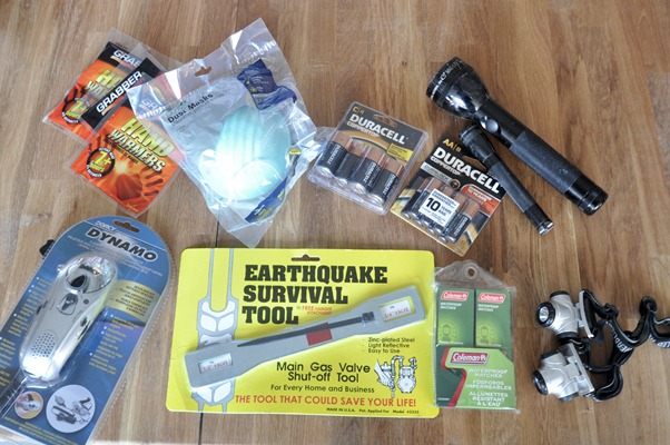 earthquake survival tool etc