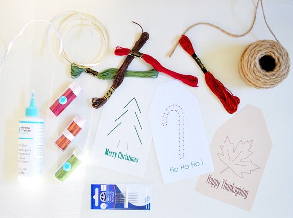 embroidered tag supplies