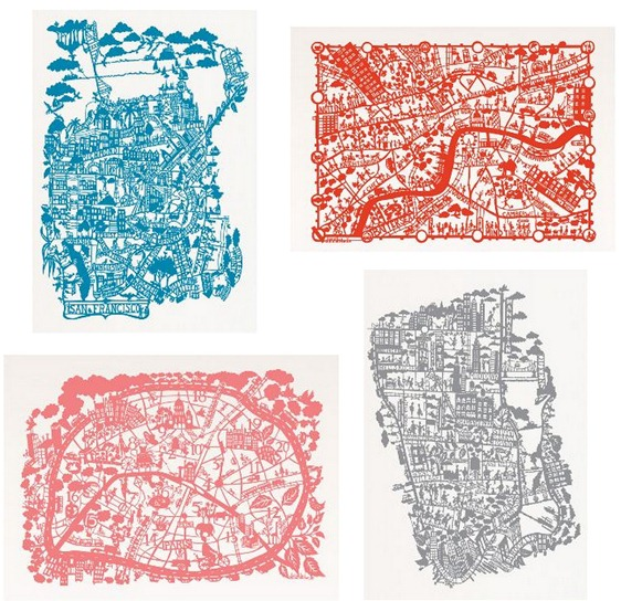 famille summerbelle maps