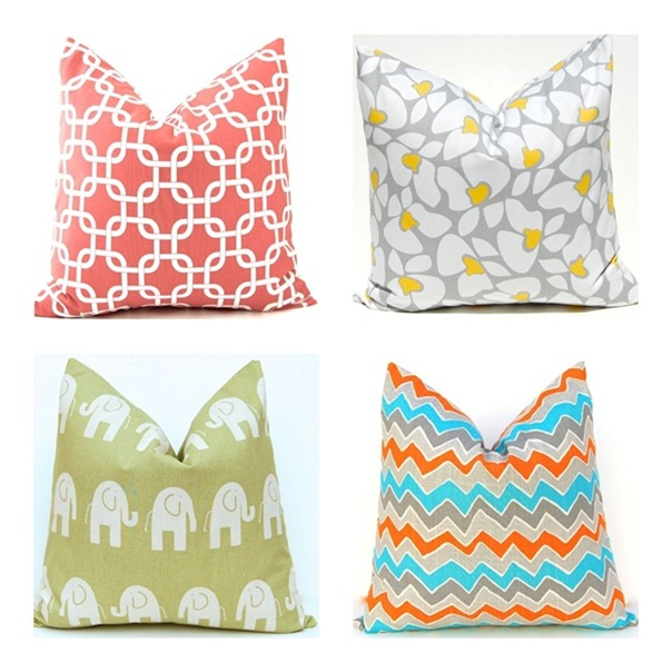 festive home decor pillows