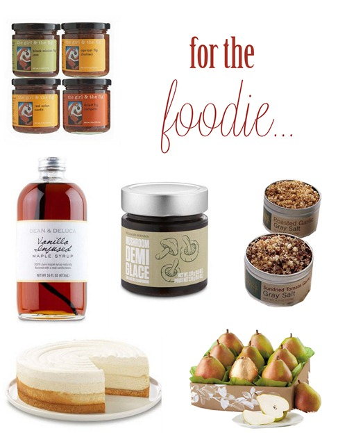 for the foodie gifts
