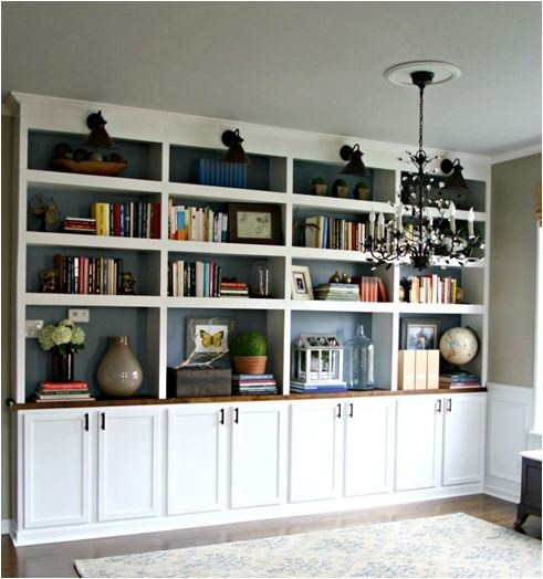 Built In Bookshelve: Centsational Girl