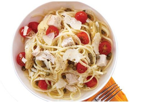 linguine with turkey
