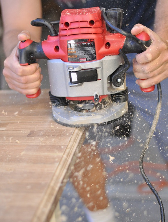 Countertop Edge Router Bits : This particular model plunge router does not come with a sawdust ...