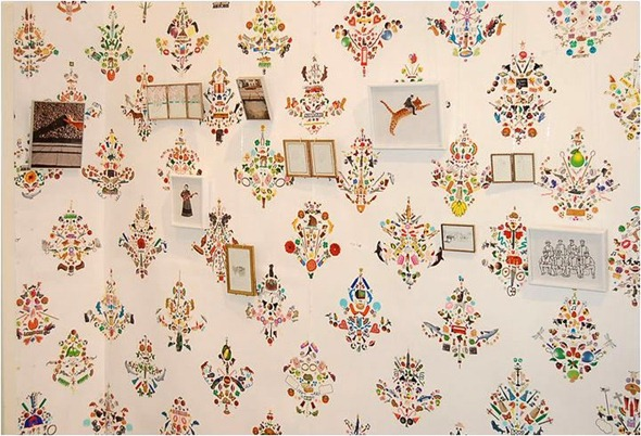 sticker wallpaper flat vernacular