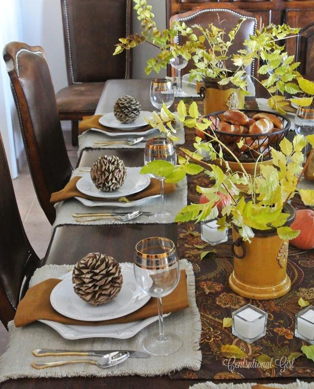 Mom 39 S Thanksgiving Table Centsational Girl