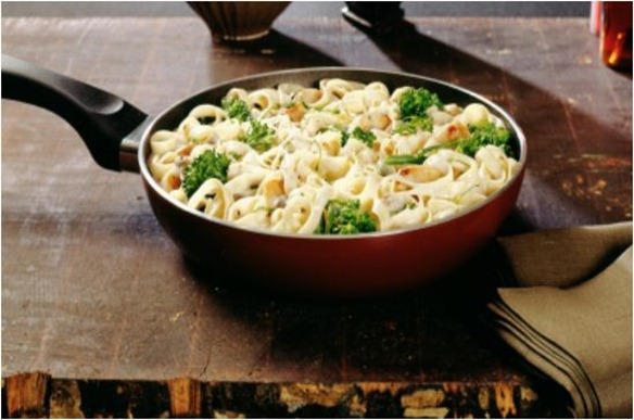 turkey broccoli alfredo