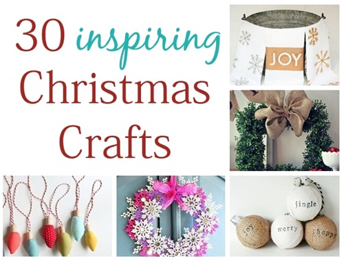 30 inspiring christmas crafts cg