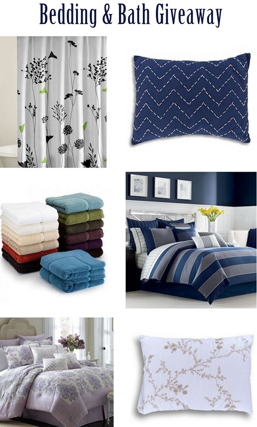 bedding and bath giveaway