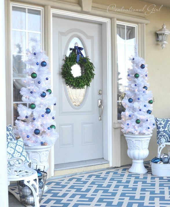 23 Creative Front Porch Christmas Decorating Ideas Christmas Designers