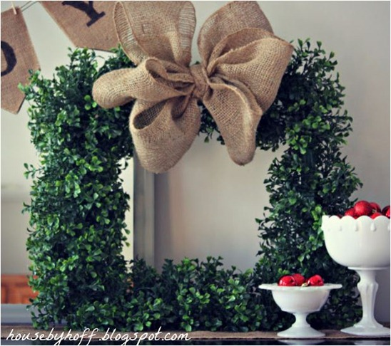 boxwood wreath housebyhoff
