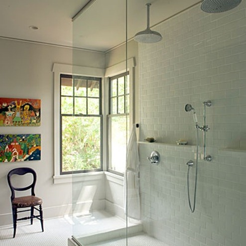 classic subway tile in bathroom