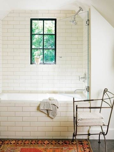 classic white subway tile