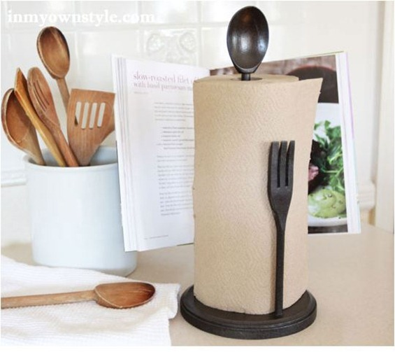 cucina paper towel holder inmyownstyle
