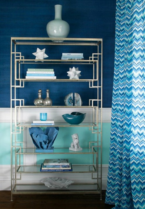 inky blue and white hampton design house