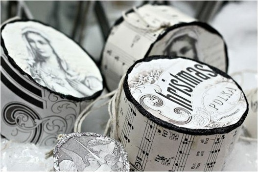 paper drums shabbysweetcottage