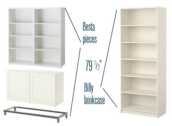 Centsational Girl » Blog Archive Besta, Billy, & Brass Bookcases ... - Besta Ikea White Creative