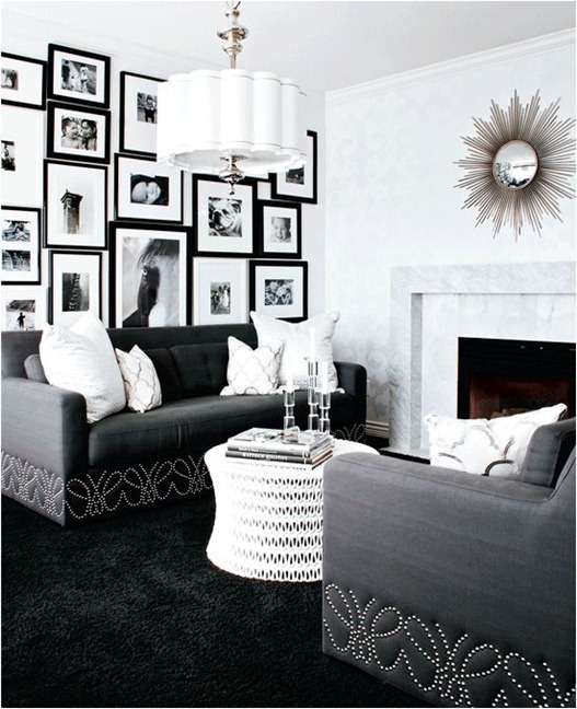 black and white gallery styleathome
