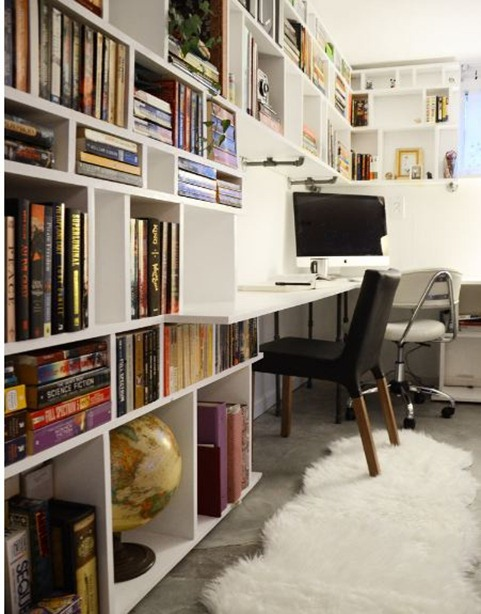 cubby built in bookcases