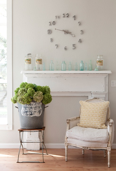 french chair and mantel albaworks