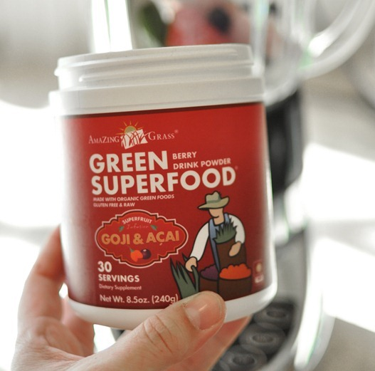green berry superfood