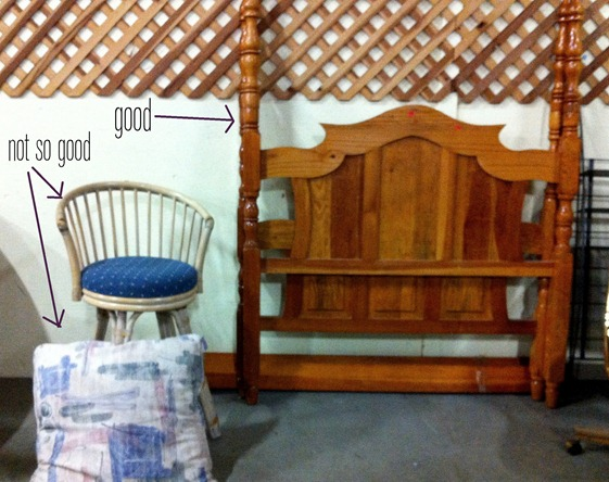 headboard and pillow