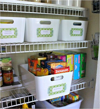 Gentil Storage Baskets For Pantry