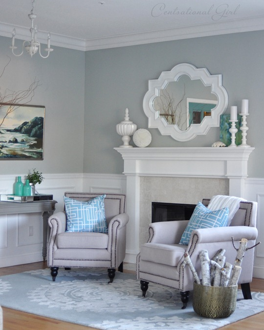 Good Blue Paint Colors For Living Room | Interior Decorating Modern