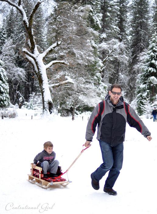matt pulling sled