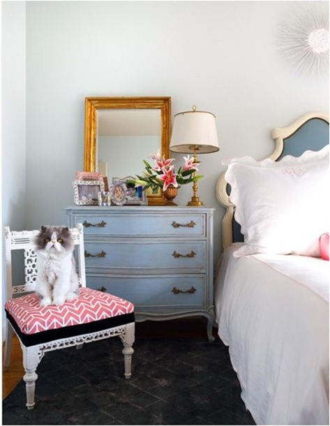 painted bedside dresser sara tuttle