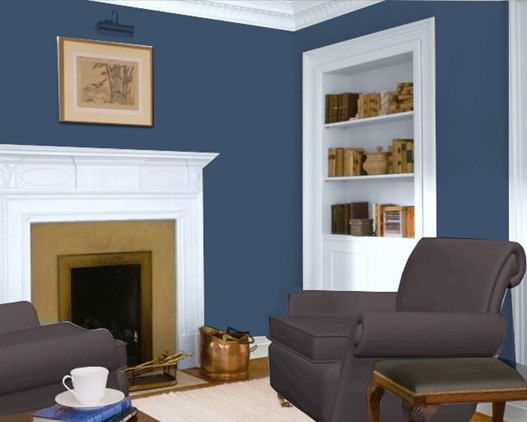 rich navy by glidden