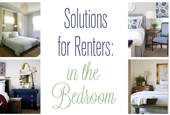 solutions for renters in the bedroom