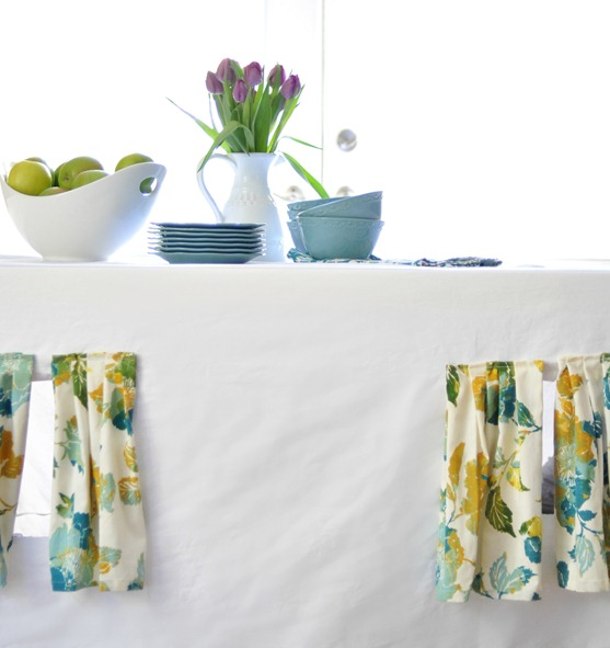 tea towel curtains