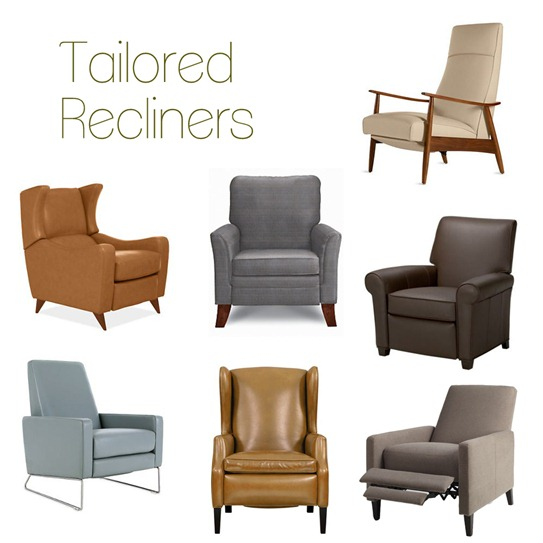 Seven Stylish Recliners
