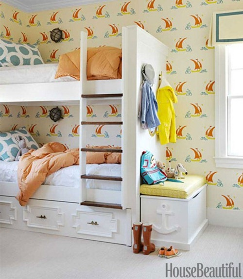 bunks with drawers housebeautiful