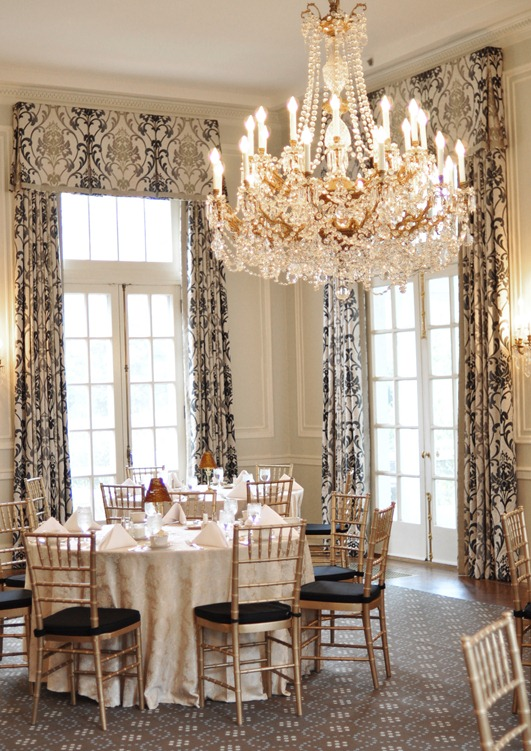 dining room duke mansion