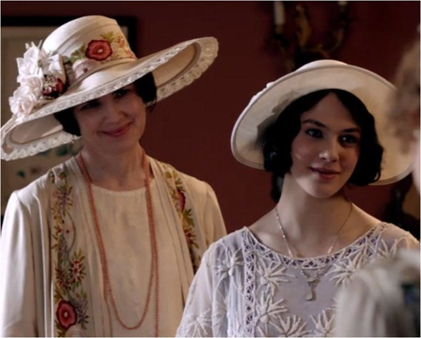 downton abbey hats