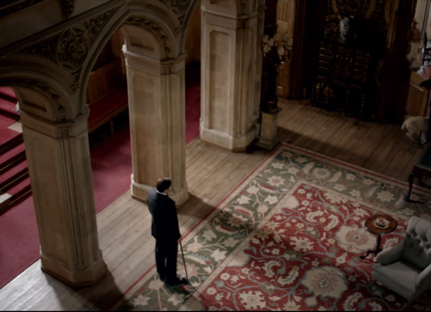 entry hall downton abbey