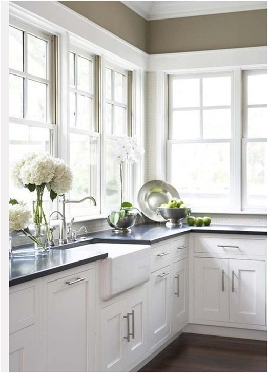 6 ways to dress a kitchen window centsational girl for Kitchen ideas no window