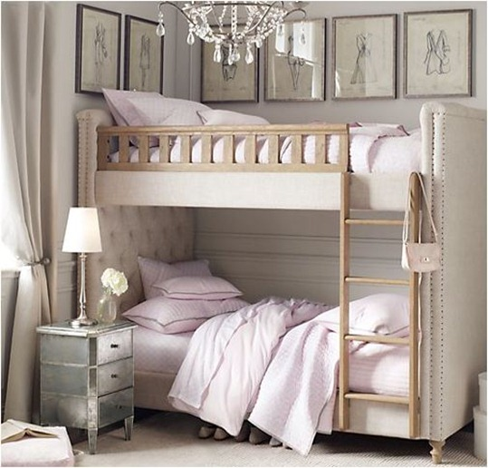 rh baby upholstered bunks