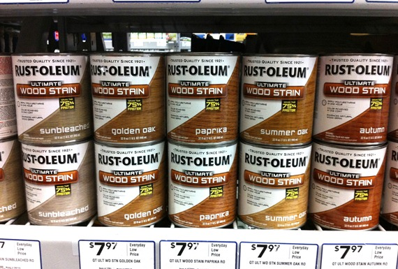 rustoleum wood care stains