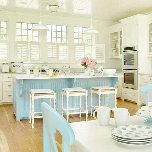 shutters in kitchen bhg