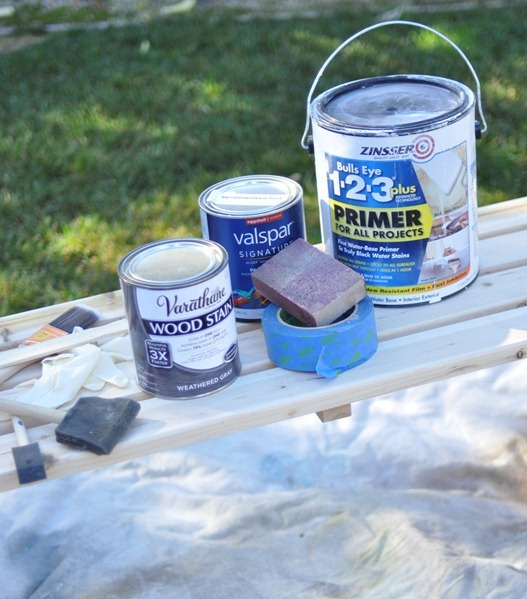 stain and paint supplies