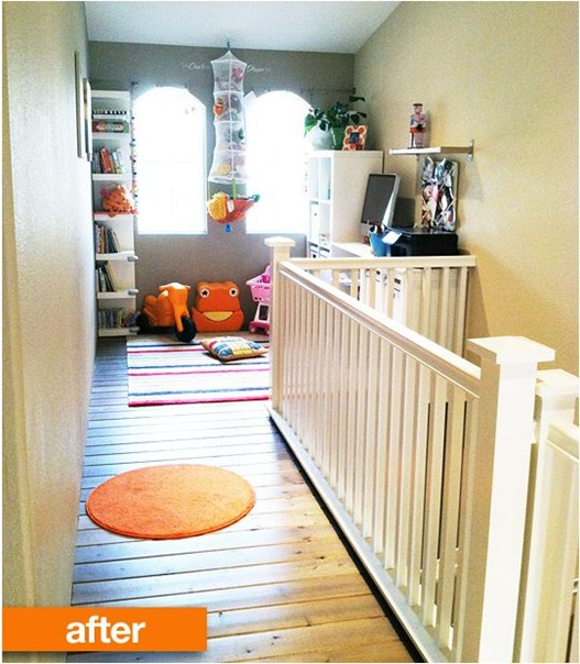 two story foyer makeover