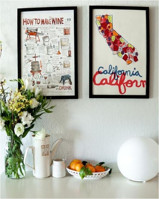 artwork in kitchen theyearinfood