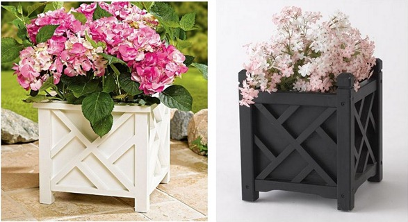 chippendale style planters