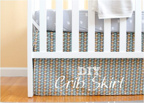 diy crib skirt