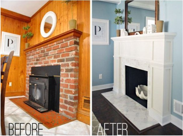 fireplace makeover yhl