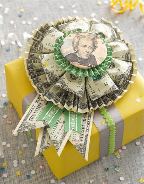 money rosette just something i made