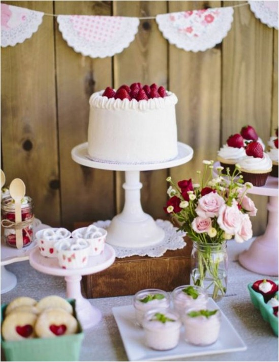 strawberry themed party tomkat studio